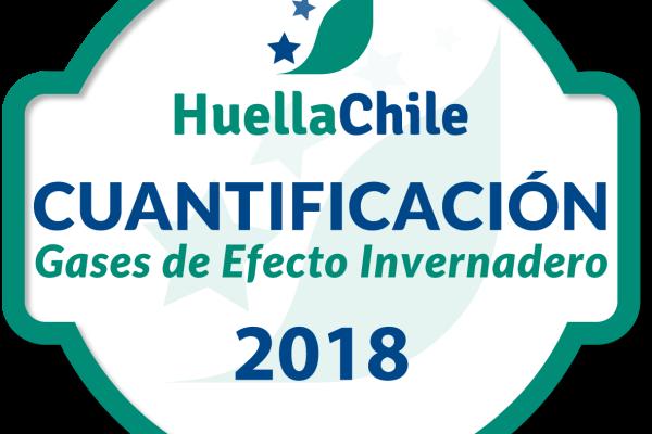 Sellos HuellaChile_2018_Nivel1